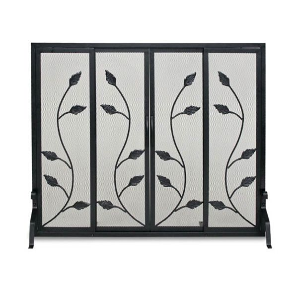 Garden Vine Fireplace Screen with Doors image number 0