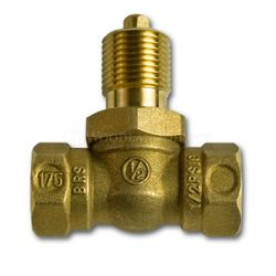 Gas 1/4 Turn Ball Valve - Straight