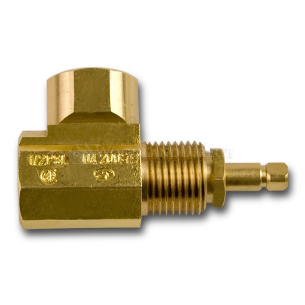 Gas Globe Valve - Angled image number 0