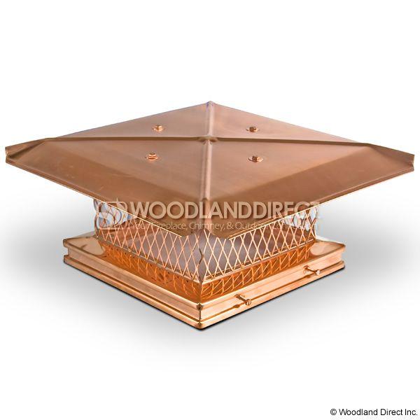 Gelco Copper Single-Flue Chimney Cap image number 0