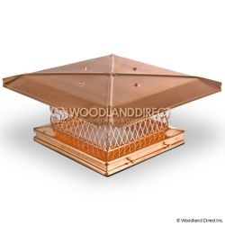 Gelco Copper Single-Flue Chimney Cap