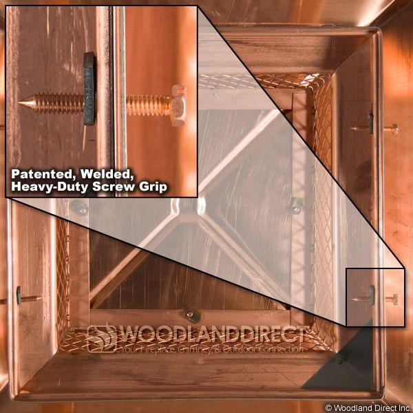 Gelco Copper Single-Flue Chimney Cap image number 2