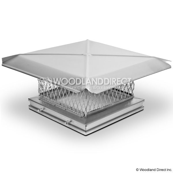 Gelco Easy-Clean Stainless Steel Chimney Cap image number 1