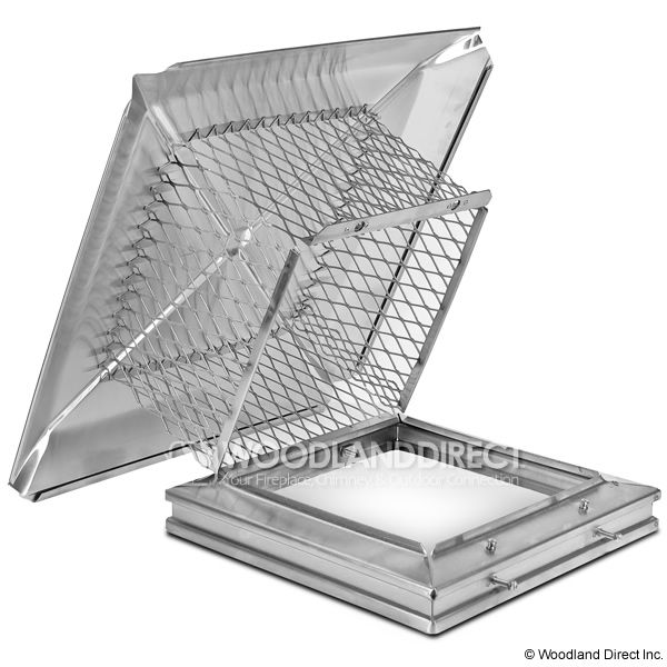 Gelco Easy-Clean Stainless Steel Chimney Cap image number 0