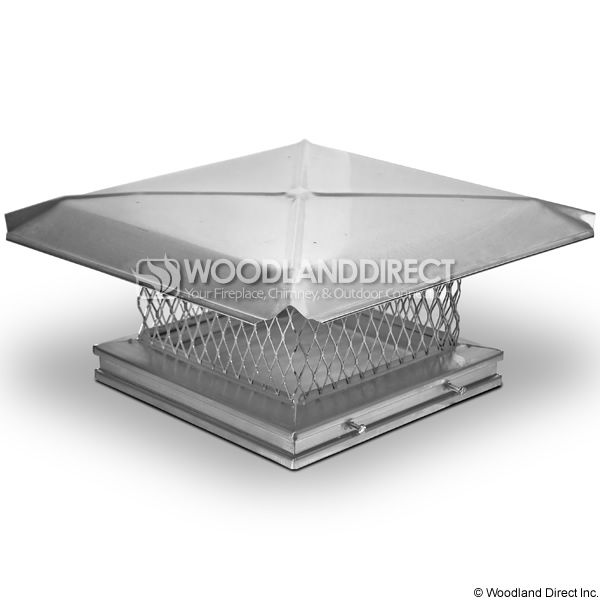 Gelco Single Flue Stainless Steel Chimney Cap image number 0