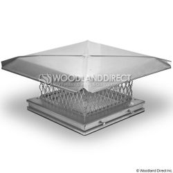 Gelco Single Flue Stainless Steel Chimney Cap