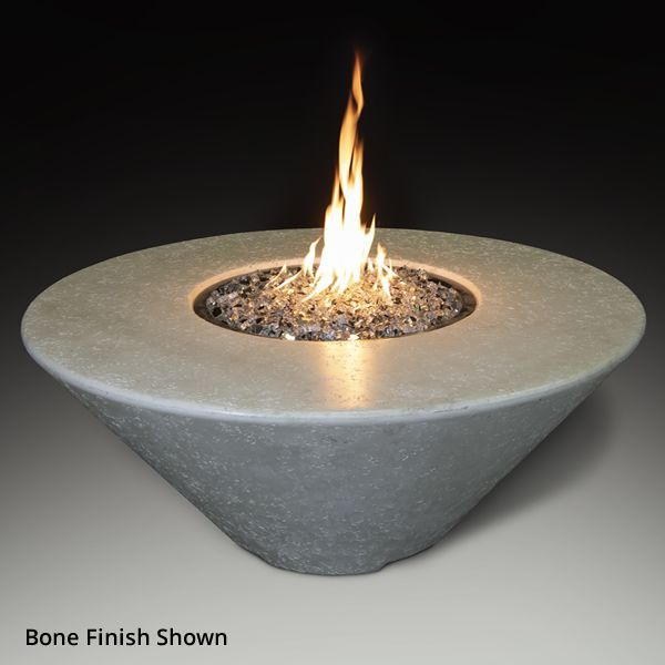 Athena Olympus Round Gas Fire Pit Table image number 2