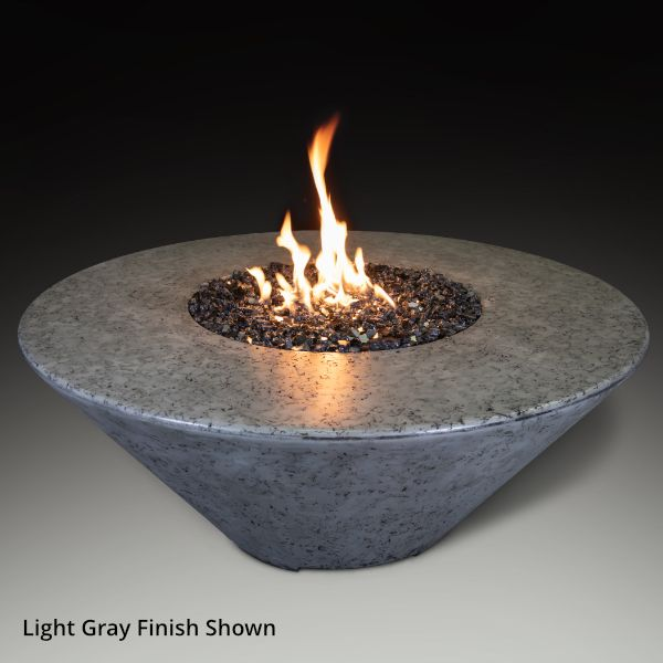 Athena Olympus Round Gas Fire Pit Table image number 3