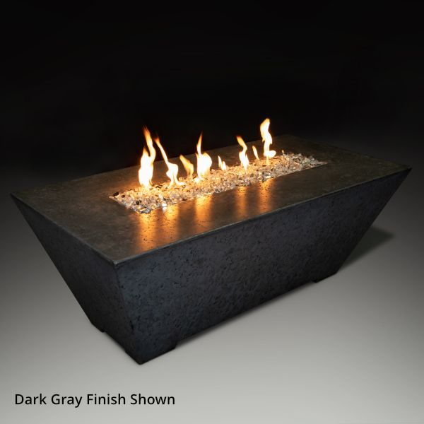 Athena Olympus Rectangle Gas Fire Pit Table image number 2