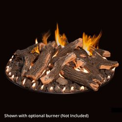 Grand Canyon Arizona Weathered Oak Fire Pit Logs - Logs Only