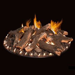 Grand Canyon Arizona Weathered Oak Fire Pit Log Set