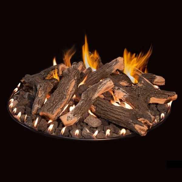 """Grand Canyon Arizona Weathered Oak Fire Pit Logs - 18/24"""" image number 0"""