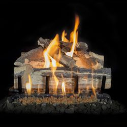Grand Canyon Blue Pine Split Outdoor Gas Log Set