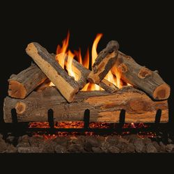 Grand Canyon Blue Pine Split Vented Gas Log Set