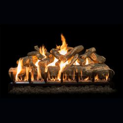 Grand Canyon Jumbo Arizona Weathered Oak Outdoor Gas Log Set