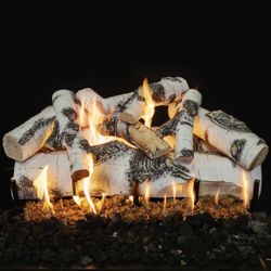 Grand Canyon Quaking Aspen Outdoor Gas Log Set