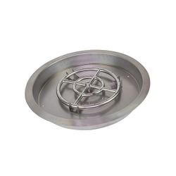 Athena Round Drop-In Pan w/ Burner