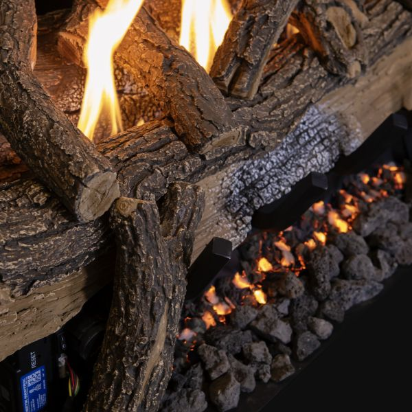 Grand Canyon Split Oak Outdoor Ventless Log Set image number 2