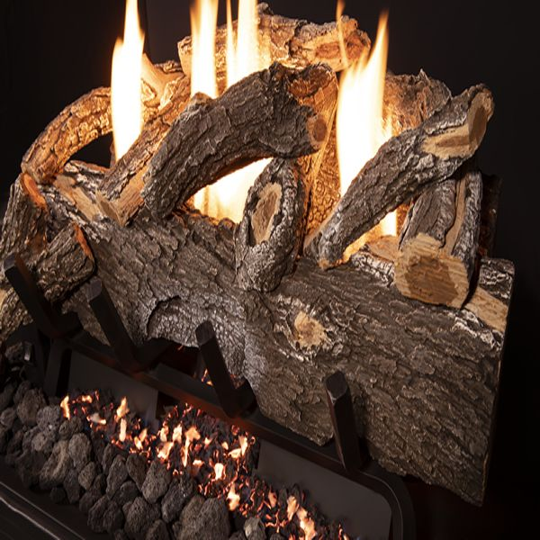 Grand Canyon Weathered Oak Outdoor Ventless Log Set image number 1