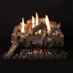 Grand Canyon Weathered Oak Ventless Gas Log Set