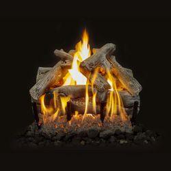 Grand Canyon Western Driftwood See Thru Outdoor Gas Log Set