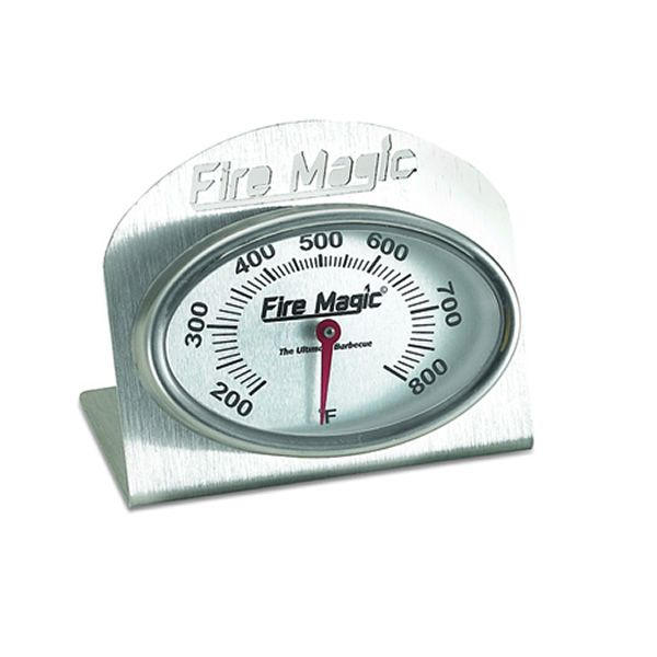 Fire Magic Gas BBQ Grill Top Thermometer image number 0