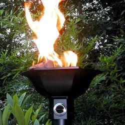 Gulf Gas Tiki Torch