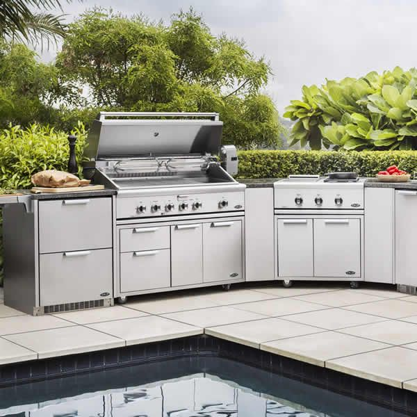 DCS Stainless Steel Outdoor Kitchen Island image number 0