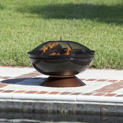 Degano Round Wood Burning Fire Pit