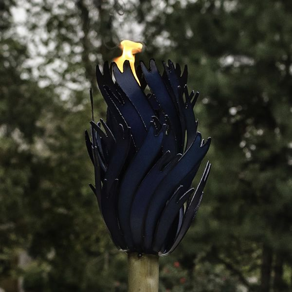 Desert Steel Blue Agave Torch - Small image number 3