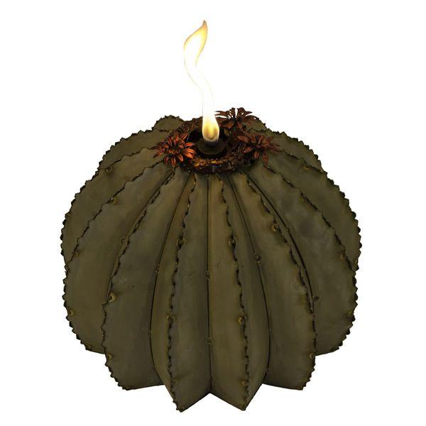 Desert Steel Golden Barrel Cactus Torch - Small image number 0