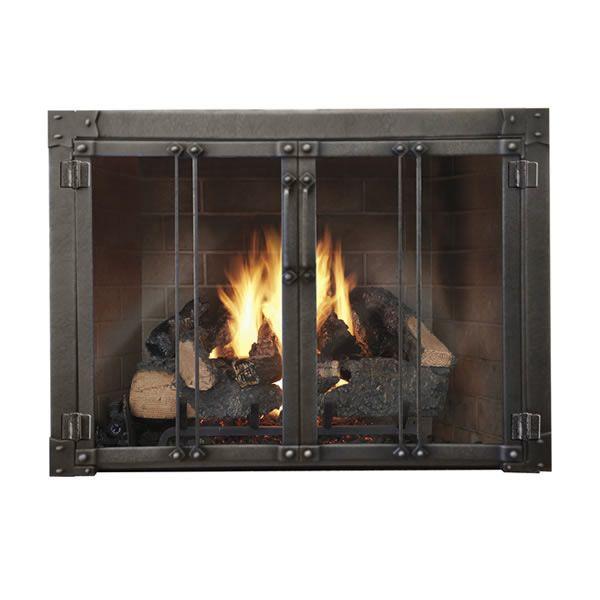 Armada Masonry Fireplace Glass Door image number 0