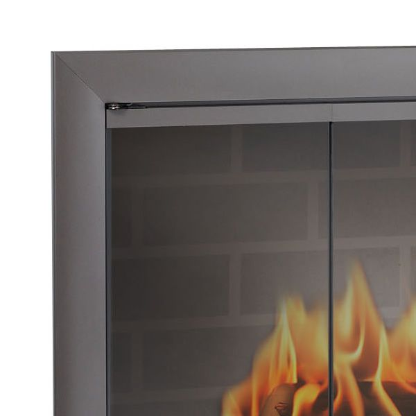 Brookfield ZC Corner Fireplace Door image number 1