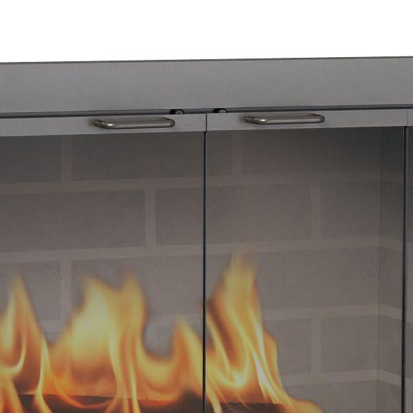 Brookfield ZC Corner Fireplace Door image number 2