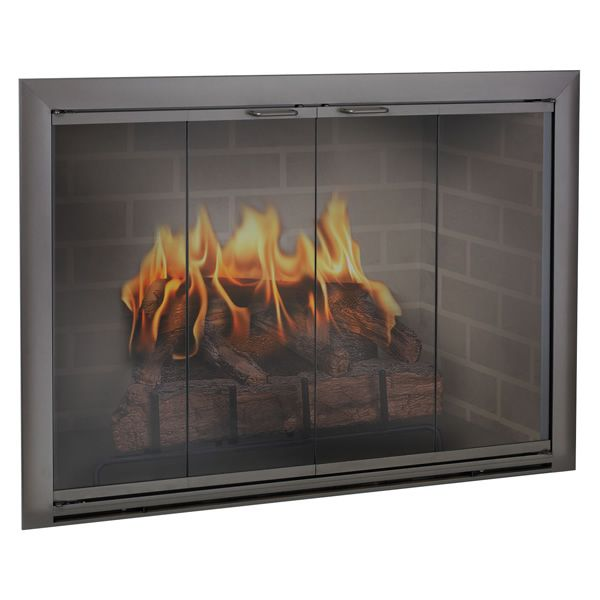 Brookfield Masonry Multi-Sided Fireplace Door image number 0