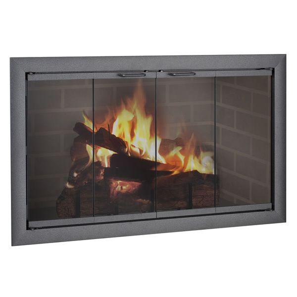 Brookfield ZC Corner Fireplace Door image number 0