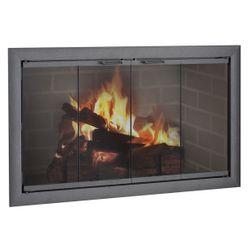 Brookfield ZC Corner Fireplace Door