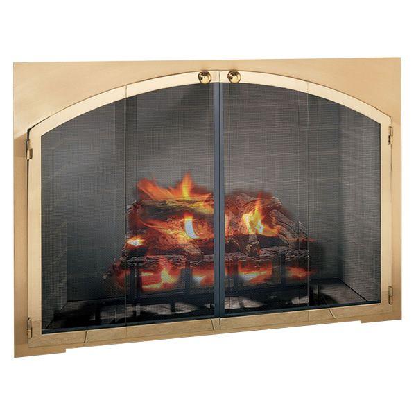 Legend Arch Rectangular Masonry Fireplace Door image number 0