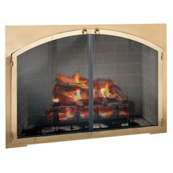 Legend Arch Rectangular Masonry Fireplace Door