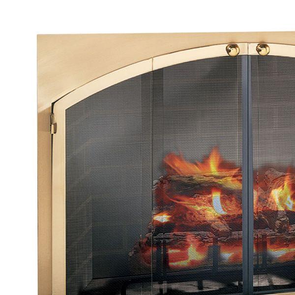 Legend Arch Rectangular Masonry Fireplace Door image number 1