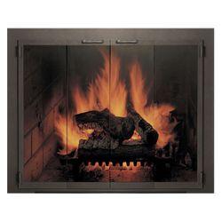 Legend Zero Clearance Fireplace Door