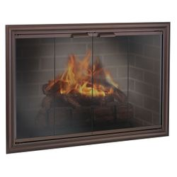 Phoenix Masonry Fireplace Door