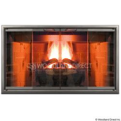 Premier View Zero Clearance Fireplace Door