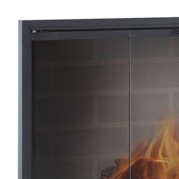 Stiletto Masonry Fireplace Door image number 1