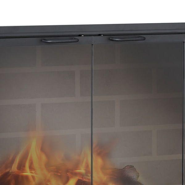 Stiletto Masonry Fireplace Door image number 2