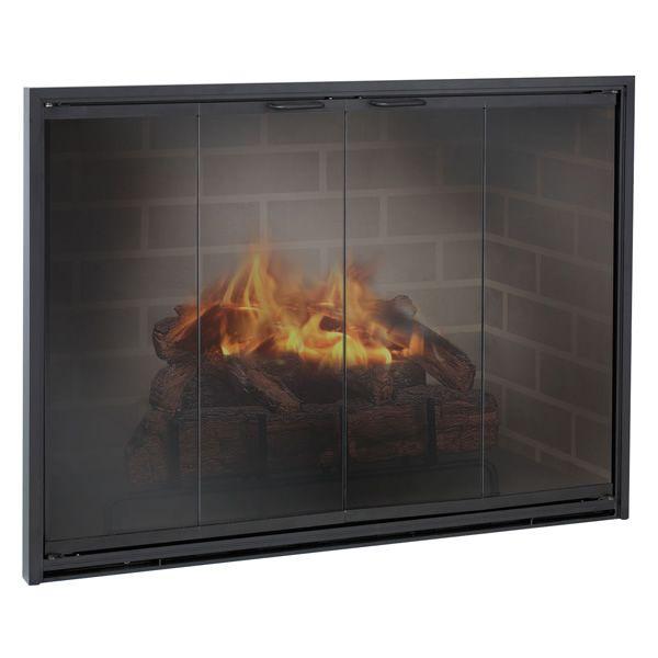 Stiletto Masonry Fireplace Door image number 0