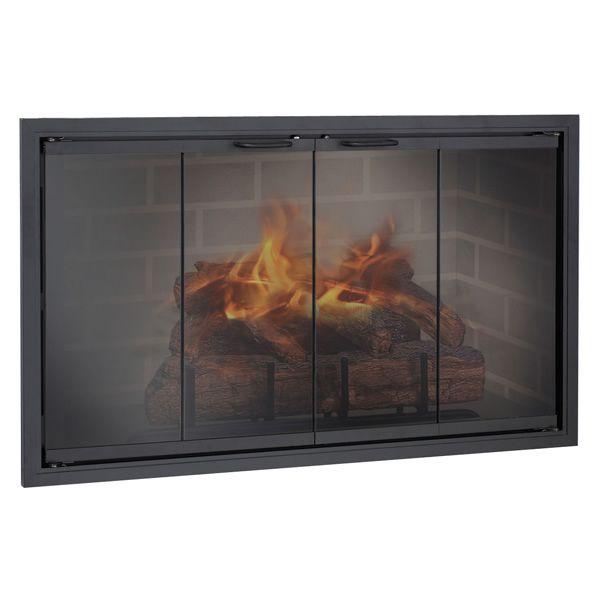 Stiletto ZC Corner Fireplace Door image number 0