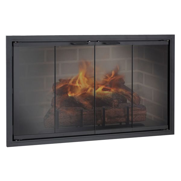 Stiletto Zero Clearance Fireplace Door image number 0