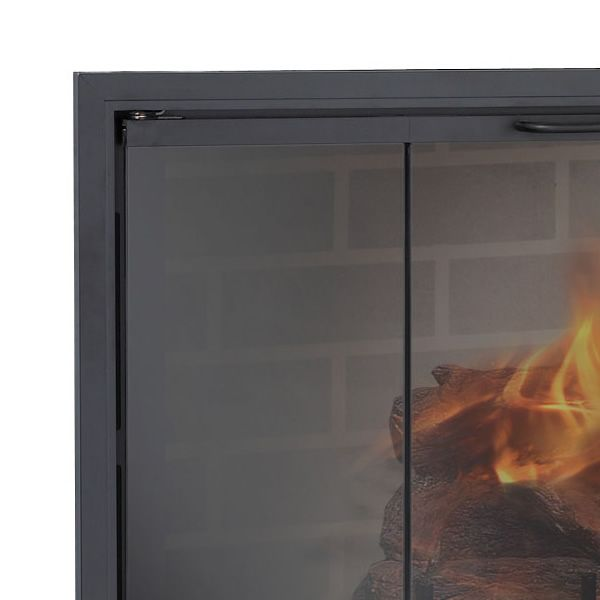 Stiletto Zero Clearance Fireplace Door image number 1