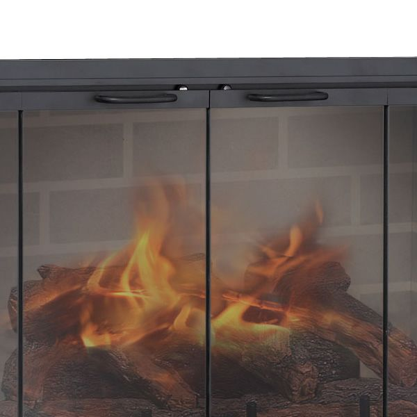 Stiletto Zero Clearance Fireplace Door image number 2